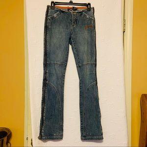 Harley Davidson jeans size 2 long